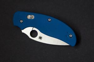 Spyderco Sage 3 Blue G-10 Plain Edge Knife Review