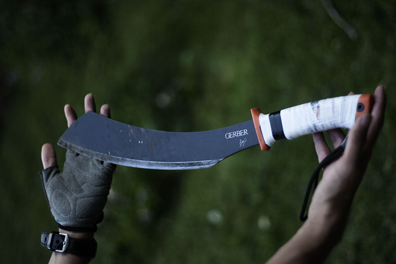 outdoor survival camping knife review