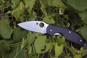 Spyderco Sage 1 Carbon Fiber Plain Edge Knife Review