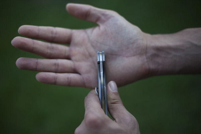 high quality sage 2 titanium knife