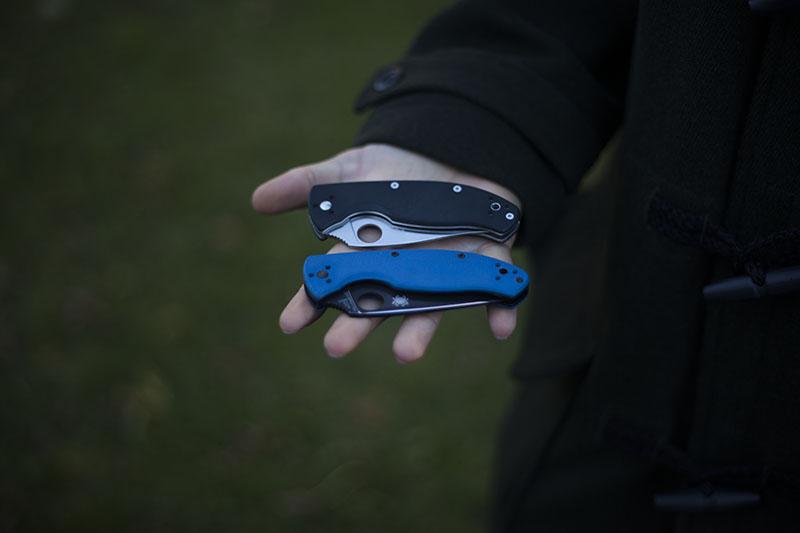 spyderco tenacious medium sized knife