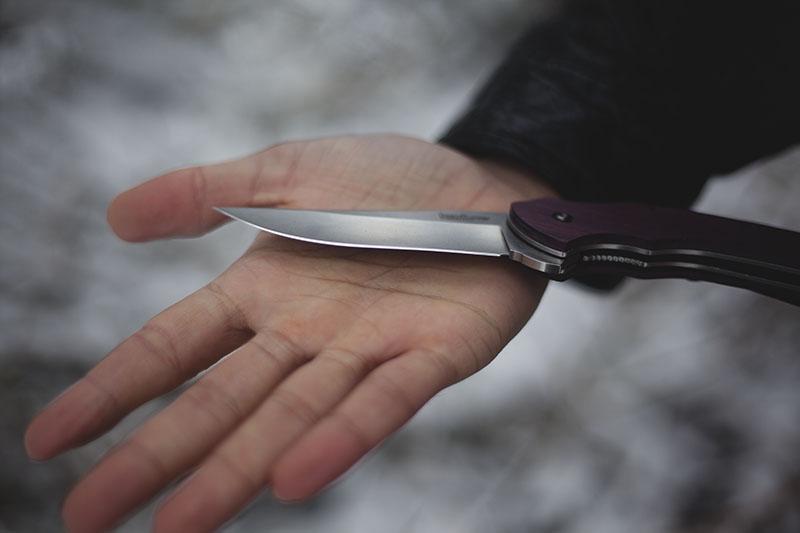 folding lock back knife kershaw tremor