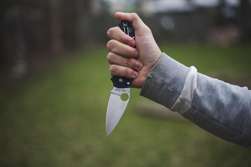 survival blog review of spyderco manix 2