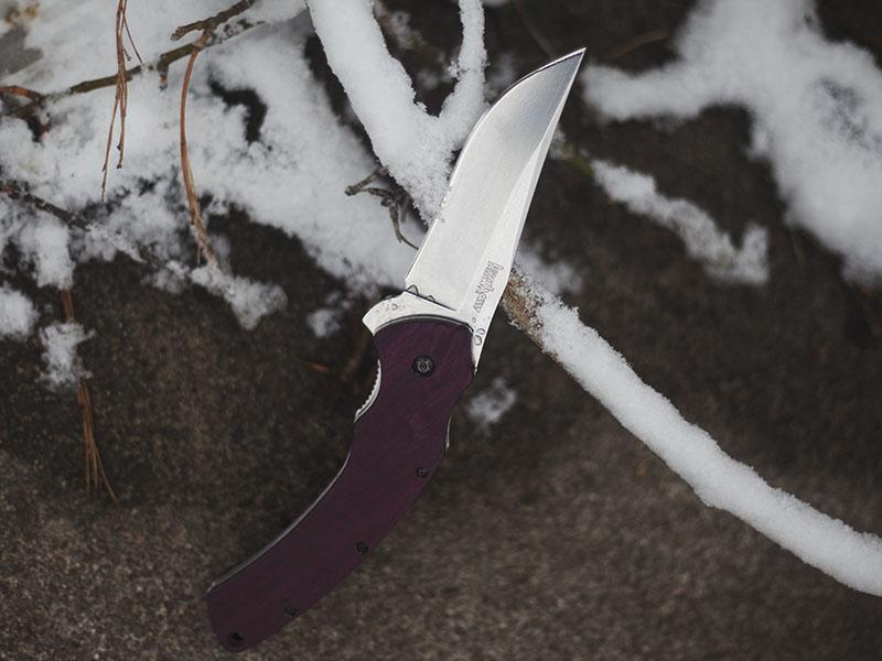 kershaw tremor 1950 folding lock back knife