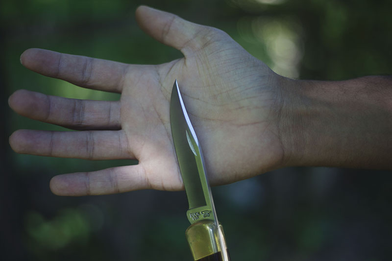 classic folding knife buck 110 edc review