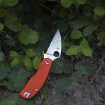 Spyderco Urban Safety Orange G-10 Slip Joint Knife Review