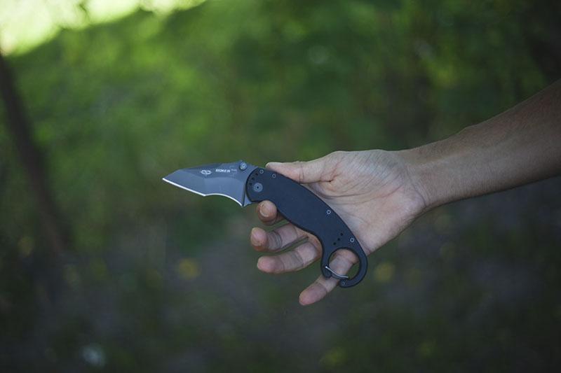 self defense knife boker plus clb karambit review