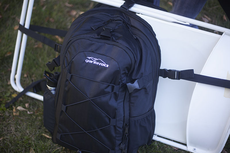 survival gear camping granite rocx tahoe backpack review