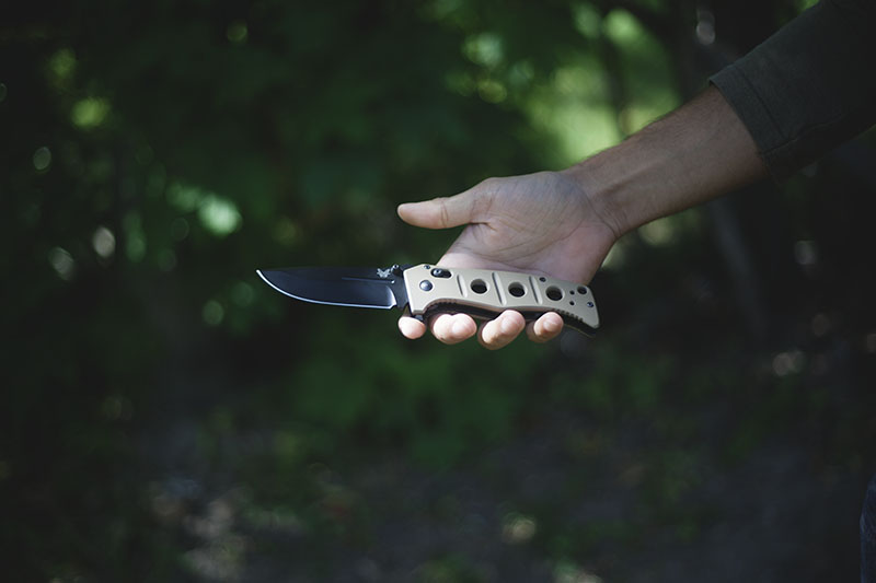 everyday carry tactical knife benchmade adamas review