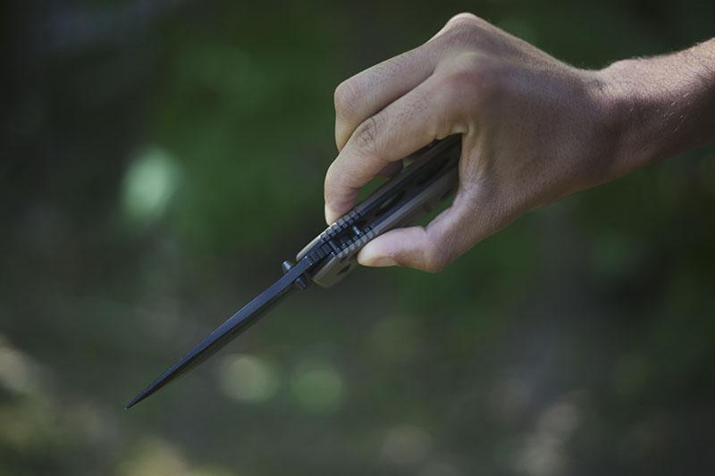 benchmade adamas 275 BKSN military knife edc