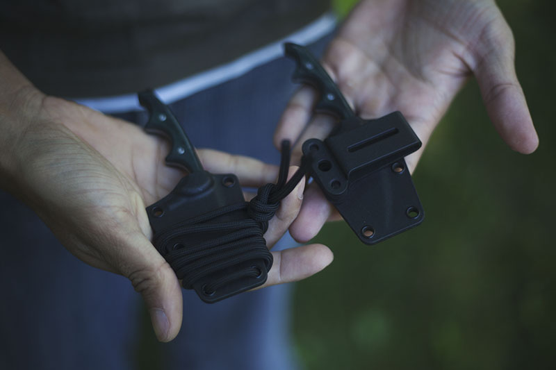 edc everyday carry neck knife folts crkt minimalist review