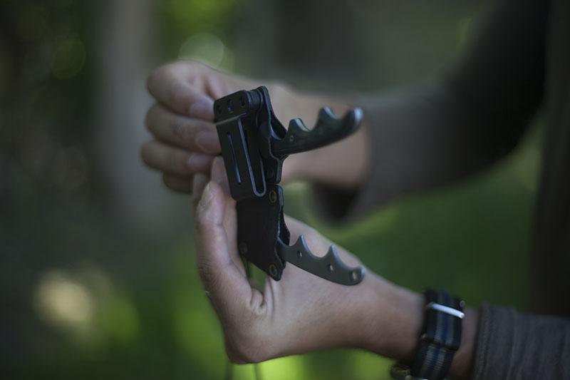 survival blog review crkt minimalist neck knife gear edc
