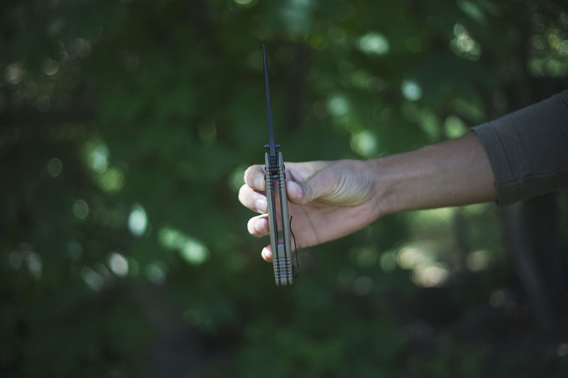 edc tactical folding survival knife benchmade adamas review