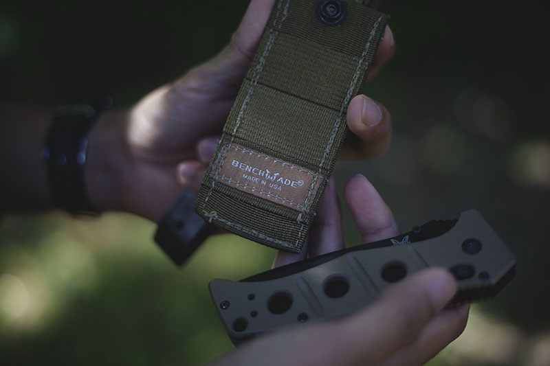 survival blog benchmade adamas 275 green folding knife review