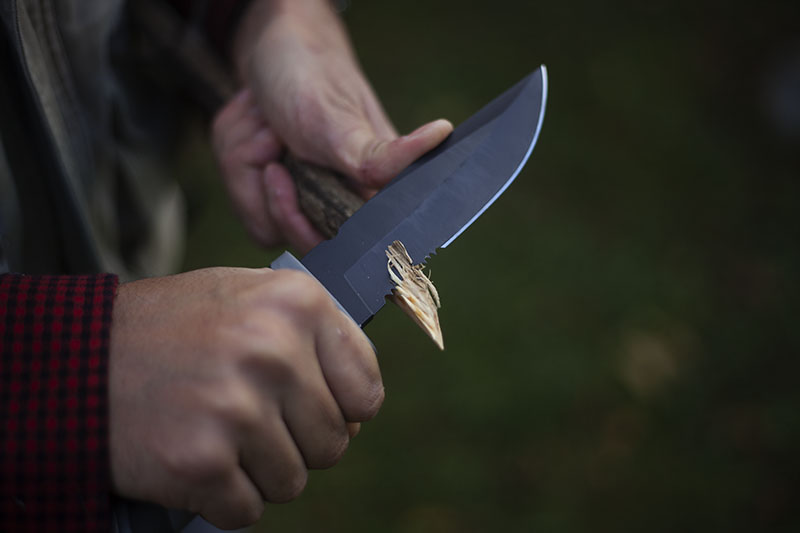 fixed blade survival knife camillus sk mountain survivorman