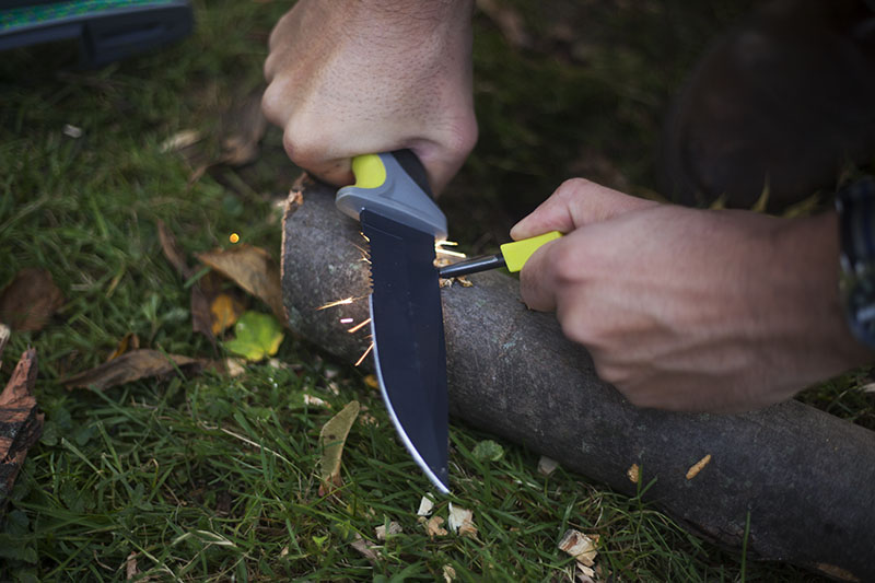 firesteel fire starter camillus sk mountain feature ultimate survival knife review