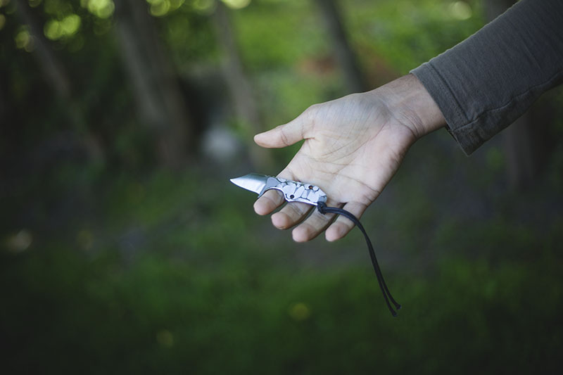 modifying boker neck knife clb microcom review