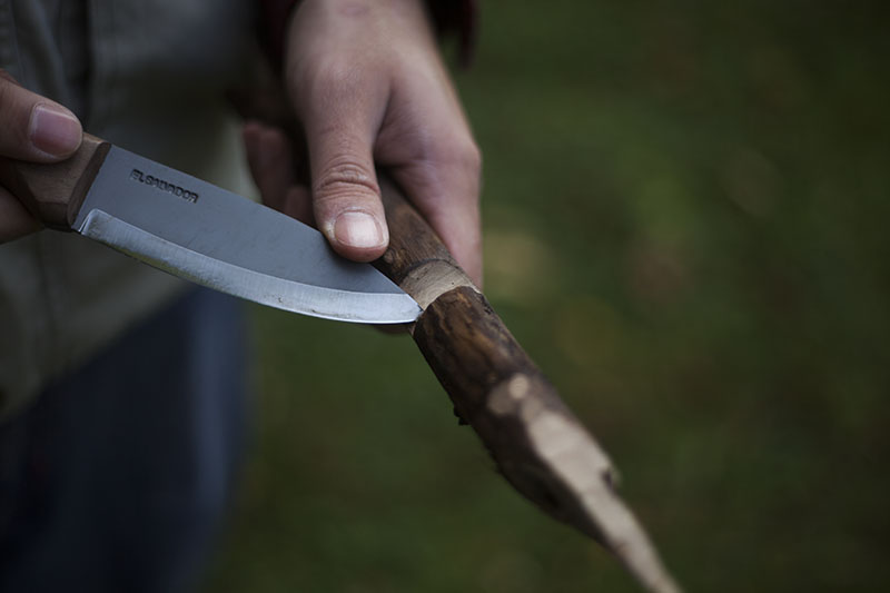 survival gear review condor knife and tool bushlore wood handle