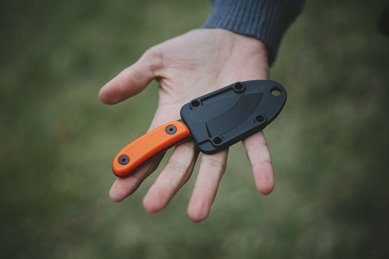 fixed blade james randall esee review candiru bushcraft neck knife outdoors