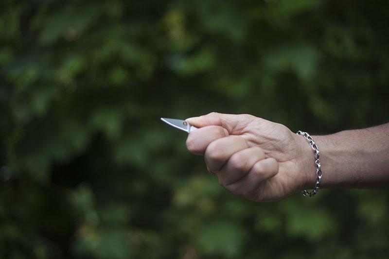 everyday carry keychain knife spyderco bug review tiny edc
