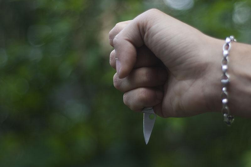 folding edc keychain knife spyderco bug review stainless steel gear