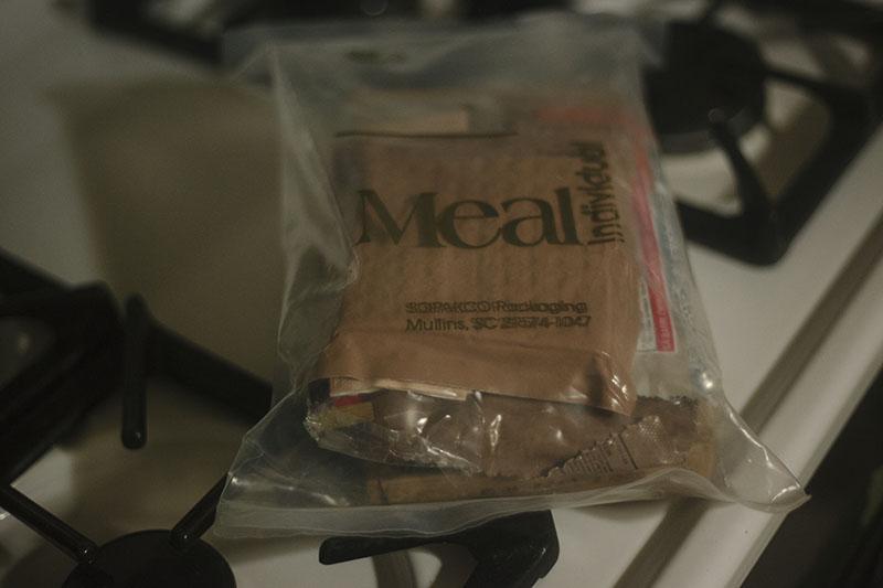 taste test mre meal ready to eat review survival blog prepper food