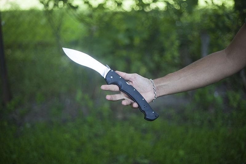 folding knife extra large oversized cold steel rajah 2