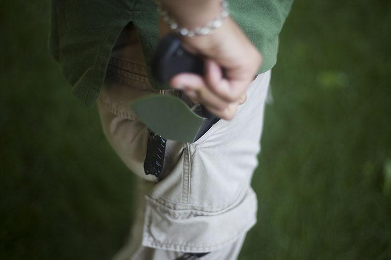 cold steel knife rajah 2 pocket folder outdoor use review