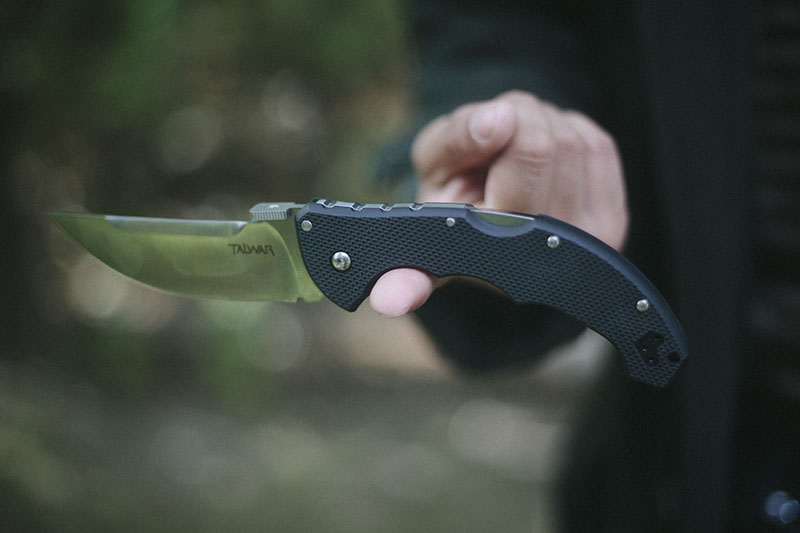 gear review cold steel talwar tactical pocket folding edc knife