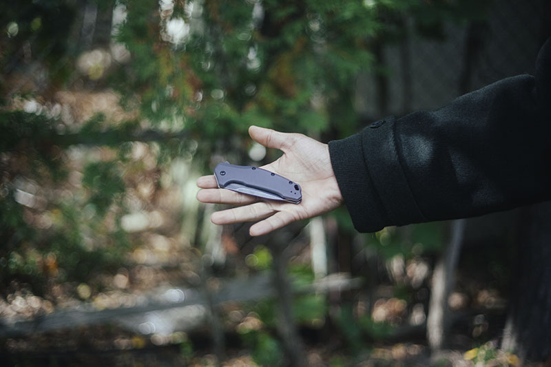 prepper blog gear review kershaw link folding everyday carry knife