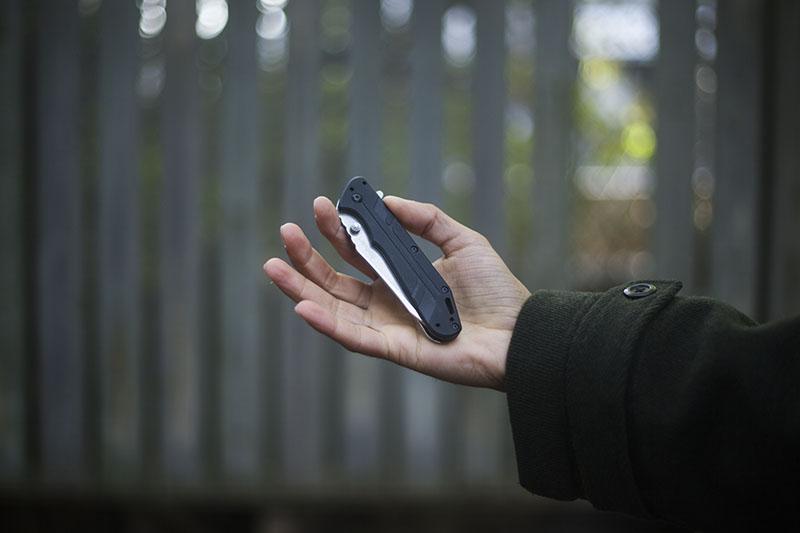 survival blog pocket knife folder rick hinderer kershaw thermite review