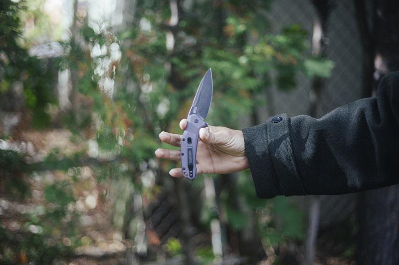 everyday carry pocket knife folder kershaw link review flipper edc