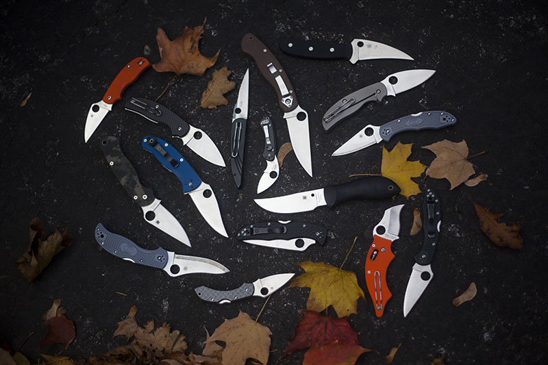 best spyderco edc knives folding fixed blade favourite spydies