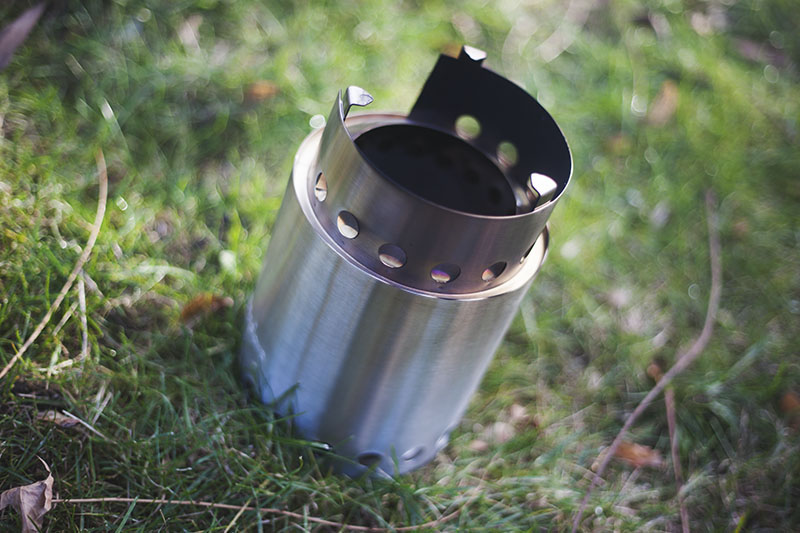 wood burning solo stove review titan campfire heat fire lite survivalist prepper blog