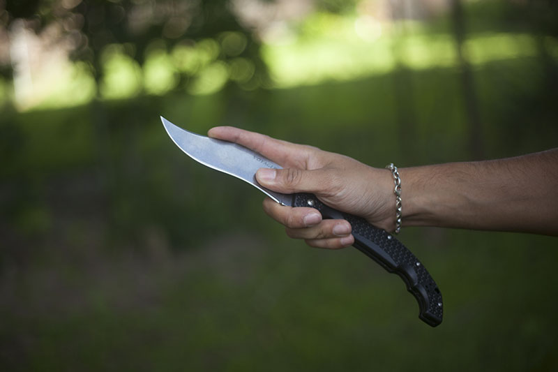 survivalist blog gear review xl size knife folder cold steel review