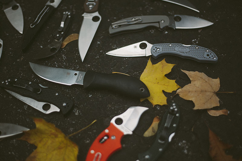everyday carry spyderco folding knives best of knife photography