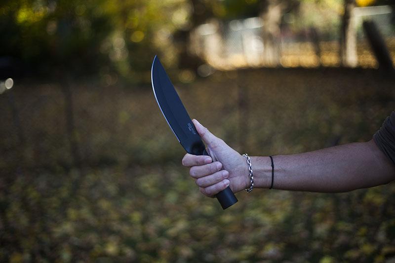 survival blog knife review cold steel bushman outdoor gear