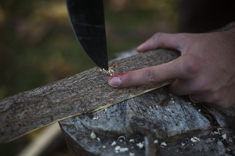 survivalist blog testing knife review cold steel gear bushman