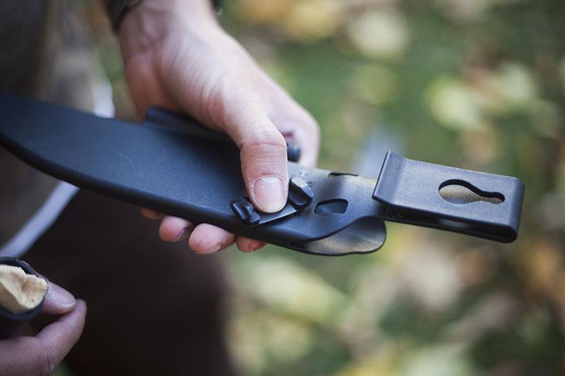 outdoor prepper knife survival camping knife bushman cold steel