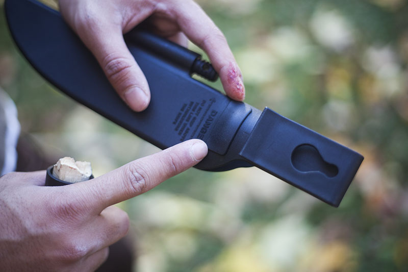survivalist prepper blog knife review gear survival cold steel