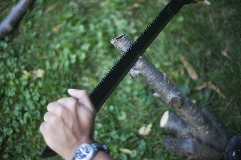 fixed blade bushcraft outdoor survival machete gerber knife