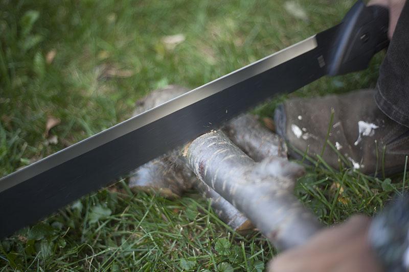 negative review gerber gator machete fixed blade outdoor survival