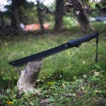 Gerber Gator Machete Saw Back Outdoor Knife Review