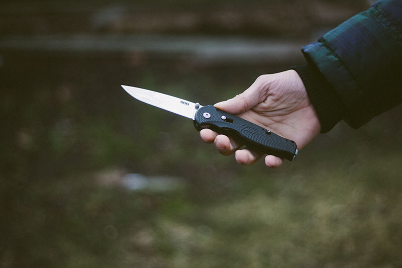 edc everyday carry knife sog flash 2 review survivalist blog