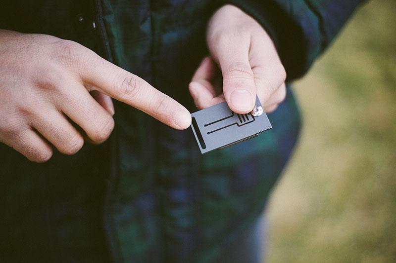 unique spyderco folding knife tiny rectangle squarehead review