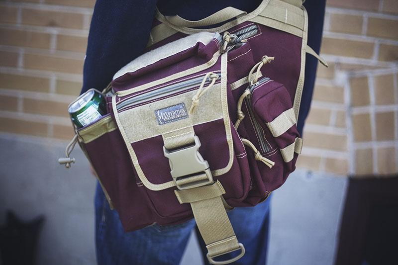 survival edc overbuilt shoulder bag get out bag maxpedition review