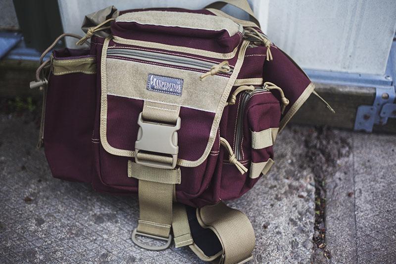 survival go bag maxpedition shoulder edc jumbo versipack review