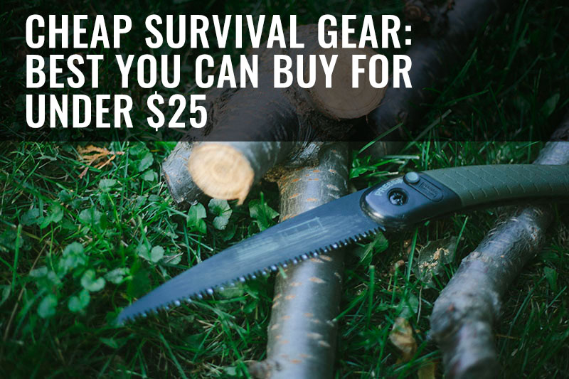 survivalist and prepper gear for affordable prices