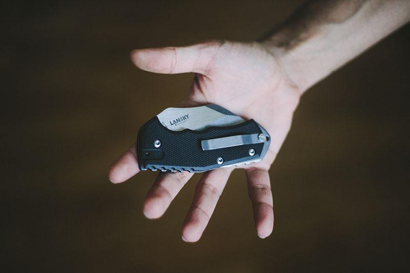 lansky world legal everyday carry folding knife uk friendly pocket edc