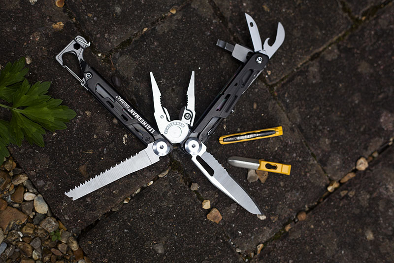 leatherman signal outdoor wilderness mutlitool review